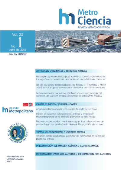 Volumen 23 N°1 Abril 2015
